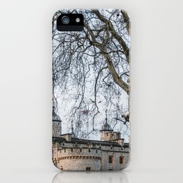 Tower of London in Winter iPhone Case