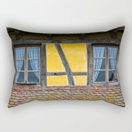 Twin Windows Rectangular Pillow