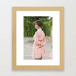 Killer in Pink Framed Art Print