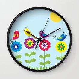 singers Wall Clock
