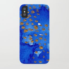 gold snow I iPhone Case