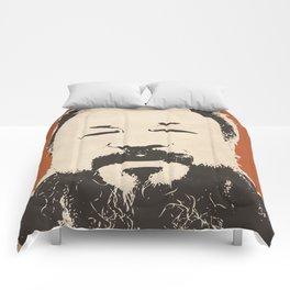 Ai Wei Wei (Red) Comforters