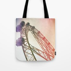 Vintage Ferris Wheel  Tote Bag