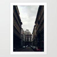 milan Art Prints featuring Milan by BMaw