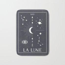 The Moon or La Lune Tarot Bath Mat