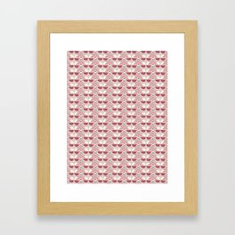 Pink Fall Ethnic #society6 #ethnic Framed Art Print