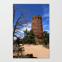 Desert View Watchtower - South Rim Grand Canyon Canvas Print