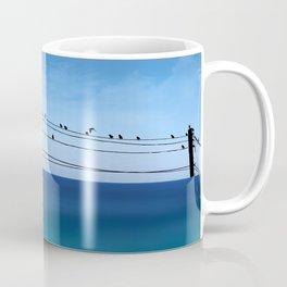 Cretan Sea & Birds I Coffee Mug