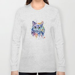 Rainbow Kitty Long Sleeve T-shirt