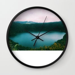 The Lake of the Living Spirals Wall Clock