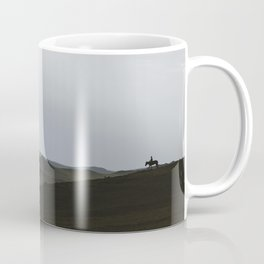 Nomad on a Hill in Mongolia Coffee Mug