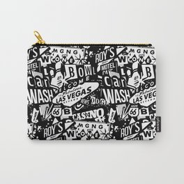 LAS VEGAS. VINTAGE SIGNS Carry-All Pouch