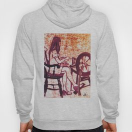 At the Spinning Wheel      by Kay Lipton Hoody