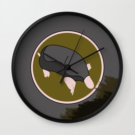 GREY MOLE Wall Clock