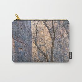 WARM WINTER WALLS OF ZION CANYON Carry-All Pouch