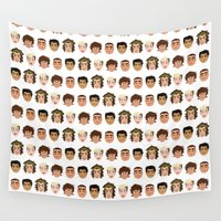 one direction Wall Tapestries featuring One Direction by pygmy
