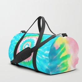 Colorful Tie Dye Shibori Duffle Bag