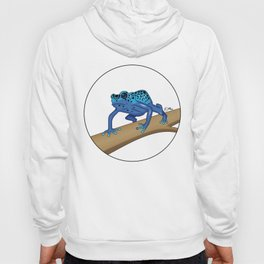The Blue Dendrobate Hoody