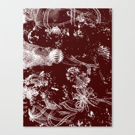 Tree Stamp Canvas Print
