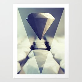 Diamond Rise Art Print