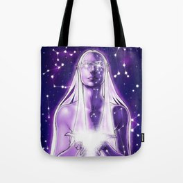 Goddess of the stars Tote Bag