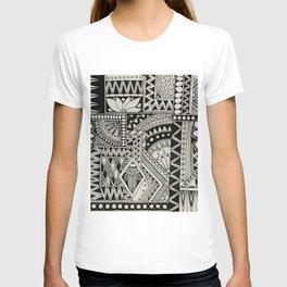 Retro Flower Doodle T-shirt
