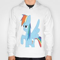 pony Hoodies featuring pony by Dore