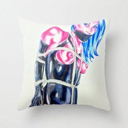Concubine Throw Pillow