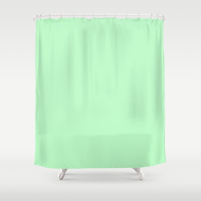 Light Green Shower Curtain by solidcolors   Society6