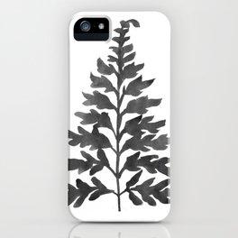 Black Fern iPhone Case