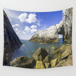 The White Arch  Wall Tapestry
