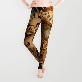 Dali Clocks Leggings