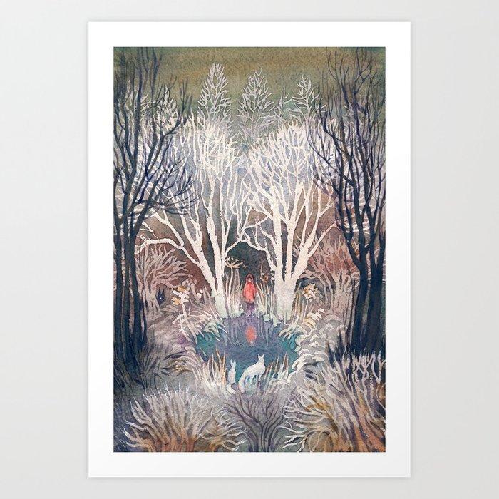 Frost Kunstdrucke