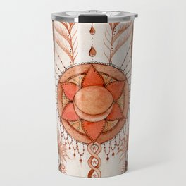 Sacral Chakra Inspirational Design Travel Mug