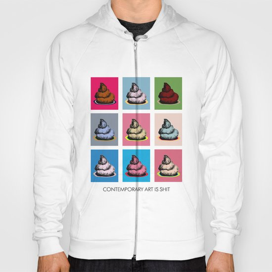 Contemporary art Hoody