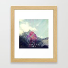 Matthew 17:20 Framed Art Print