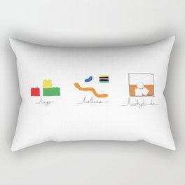 Lechyd da! Rectangular Pillow