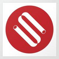 Siphon Logo 1 Art Print