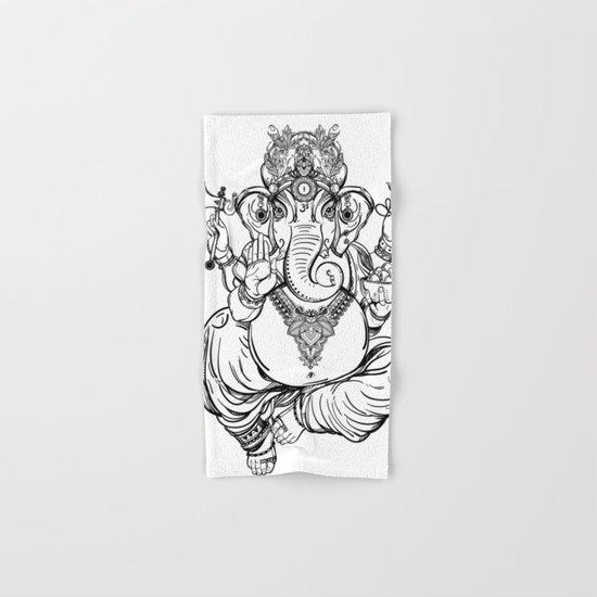 Lord Ganesha Hand & Bath Towel