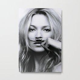 Kate Moss Print, Kate Moss Poster Metal Print