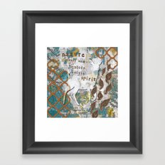 Nature Spirit Framed Art Print