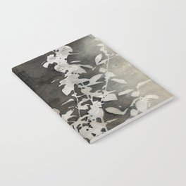 Charcoal Flowers Notebook