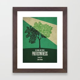 Photosynthesis - Minimalist Board Games 10 Framed Art Print