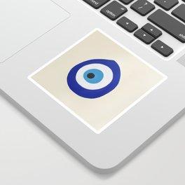 Blue Evil Eye Sticker