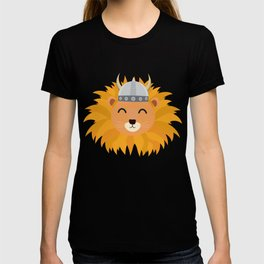Viking lion head T-Shirt for all Ages Dsok9 T-shirt