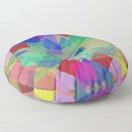 Spring Pattern  Floor Pillow