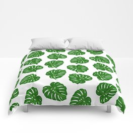Monstera Deliciosa Comforters