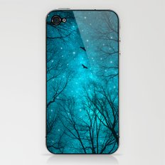 Stars Can't Shine Without Darkness iPhone & iPod Skin