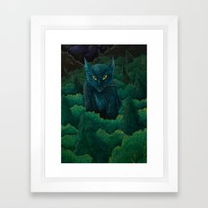 Jungle Cat Framed Art Print