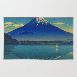 Tsuchiya Koitsu Lake Shoji Vintage Japanese Woodblock Print Rug